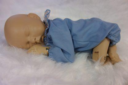 Maniquí bebe con ranita Alexandre
