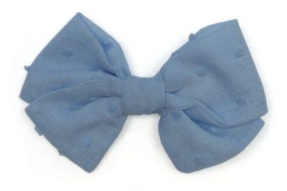 Imagen lazo azul en plumeti