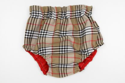 Vista frontal culotte tartan Charlotte