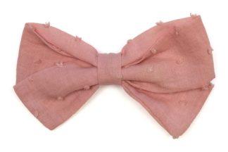 Lazo pelo plumeti rosa