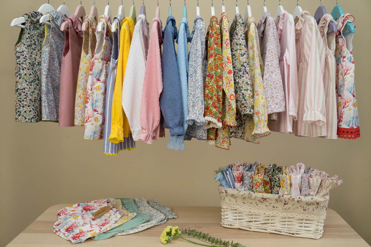 exposicion ropitas verano 2019 - blusas camisas jesusitos culottes - portada