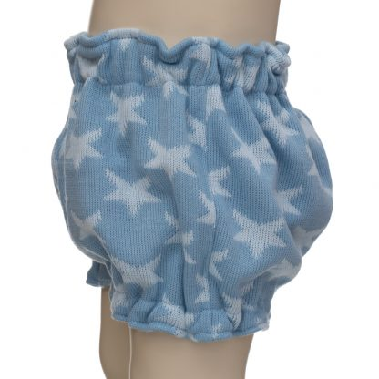 Bombacho estrellas lana en maniquí 12 meses - lateral
