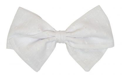 Lazo plumeti blanco